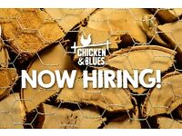 Chicken & Blues are recruiting!