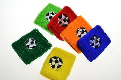 10 x Schweißband Fußball verschiedene Farben Mitgebsel Kindergeburtstag Neu