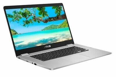ASUS C523 15.6 Inch Celeron 4GB 64GB Chromebook - Silver A-