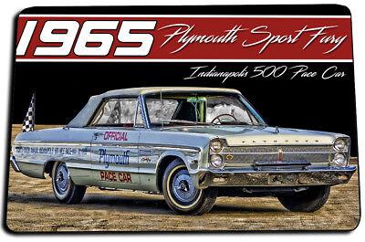 1965 Plymouth Sport Fury Indy 500 Pace Car Indoor Door Mat