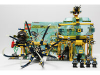 Details about Lego Aqua Raiders 7775 Aquabase Invasion. 99% there. One of the yellow stances i