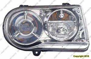 Head Lamp Passenger Side Halogen 5.7L With Delay [From 11/1/2008 To 2010] High Quality Chrysler 300