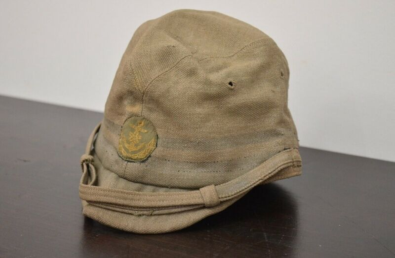 Imperial Japanese Navy Abbreviated Cap Hat Three-class Officer Military Antique
