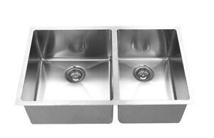 Small Radius Hand Made Stainless Steel Sink 10 30x19  BRAND NEW WITH WARRANTY  $150