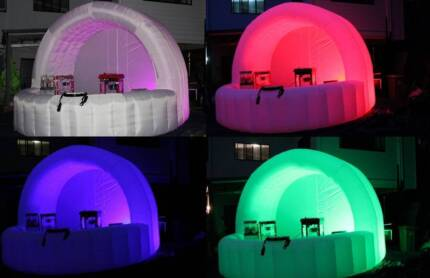 Vending Booths/DJ Booths with LED lights...event and party hire