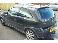 Vauxhall corsa front end damaged spares or repairs
