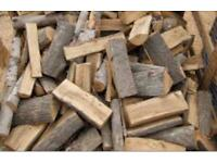 Season Hardwood Logs