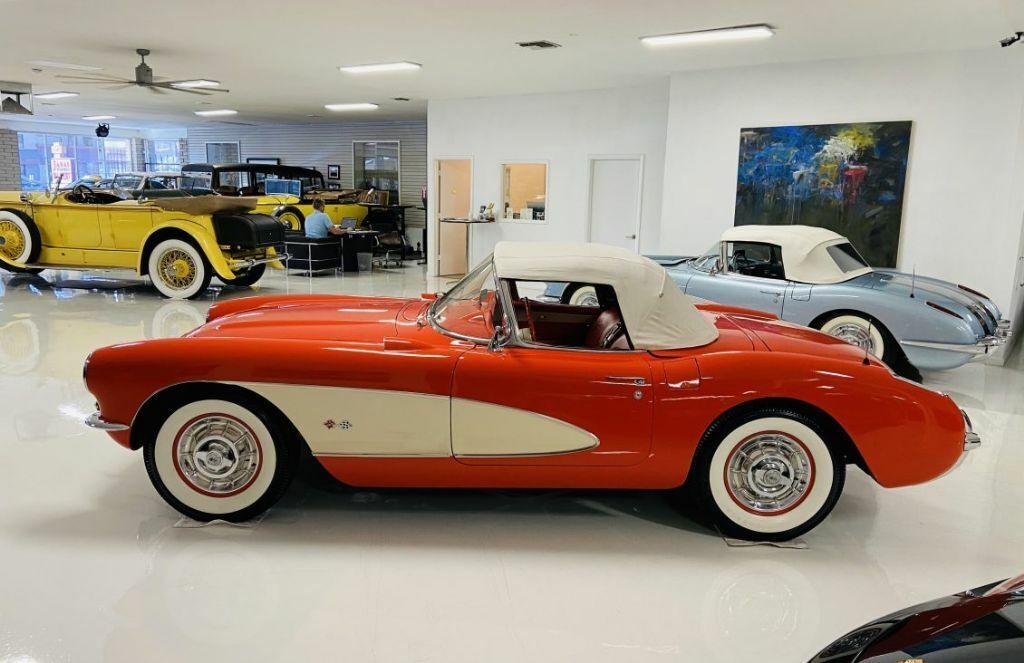 1957 Red Chevrolet Corvette   | C1 Corvette Photo 5