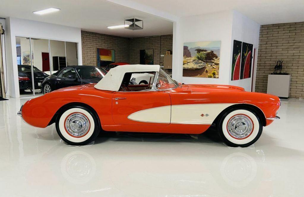 1957 Red Chevrolet Corvette   | C1 Corvette Photo 10