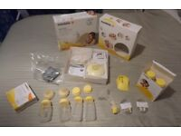 Medela Swing electric breast pump with 2x calma teats, and more
