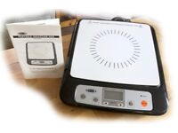 STELLA PORTABLE INDUCTION HOB, Model SEP01, used once only, as new condition, full working order