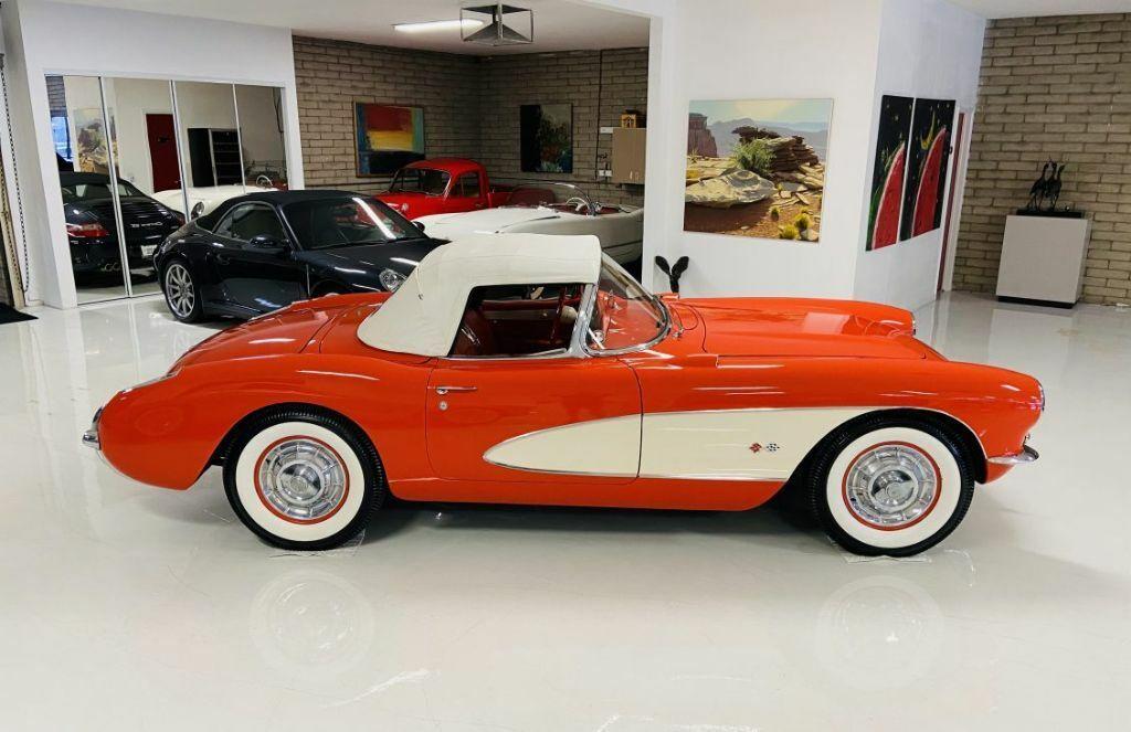 1957 Red Chevrolet Corvette   | C1 Corvette Photo 9