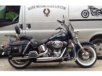 STUNNING 2002 HARLEY DAVIDSON FLSTCI HERITAGE SOFTAIL CLASSIC, LOADED, 2 OWNERS