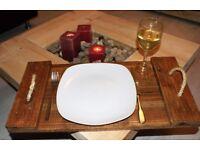Handmade Reclaimed serving tray