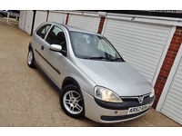 ## CHEAP 2003 52 Vauxhall Corsa 1.0 Elegance Long Mot ##