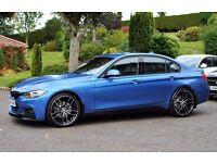 BMW F30 320d M SPORT IN ESTORIL BLUE
