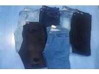 6x mens skinny jeans 34 regular