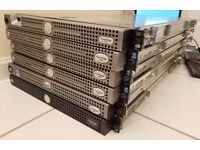 Dell PowerEdge 1850, 1750, SC1425 - 1U rack servers, Intel Xeon, dual PSU