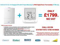 Worcester Bosch i 25 / 30 KW BOILER INSTALLATION Supply & Fit & FREE Digital Room Stat. £1799 only