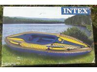 Intex challenger 1 kayak
