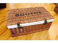 Wicker (BOOTHS) Picnic Basket/Hamper