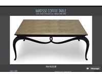 Luxury Coffee table. Designer Christopher Guy bought in Harrods