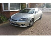 Hyundai Coupe S 2005 1.6 73,000 MOT Oct 16