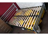 **METAL DOUBLE BED FRAME**