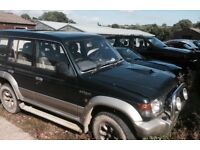 Spares or repair Mitsubishi shogun . Welding needed on chassis to get MOT.