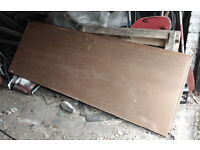 3 Free Plywood interior doors