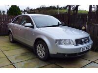 2002 Audi A4 1.9TDi 100bhp Cheap Tax Long MOT