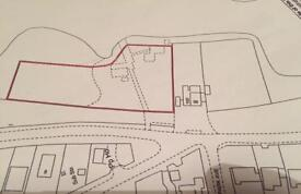 Green belt land to rent 1 acre.