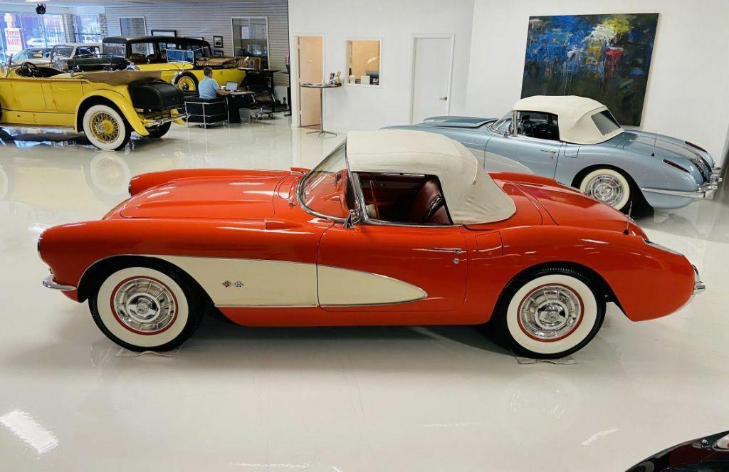 1957 Red Chevrolet Corvette   | C1 Corvette Photo 4