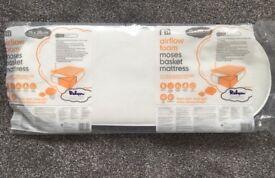Brand New Airflow Foam Moses Basket Mattress (75x28cm)