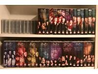 Complete buffy set VHS