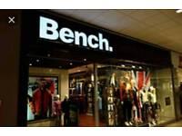 £54.00 worth BENCH credit note / Voucher
