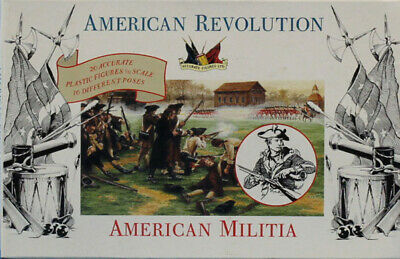Accurate Figures 1:32 54mm American Revolution Militia Plastic Kit 3201U
