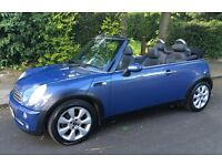 VERY RARE AUTOMATIC MINI COOPER CABRIOLET LOW MILEAGE NEARLY EVERY POSSIBLE EXTRA AUTO CONVERTIBLE