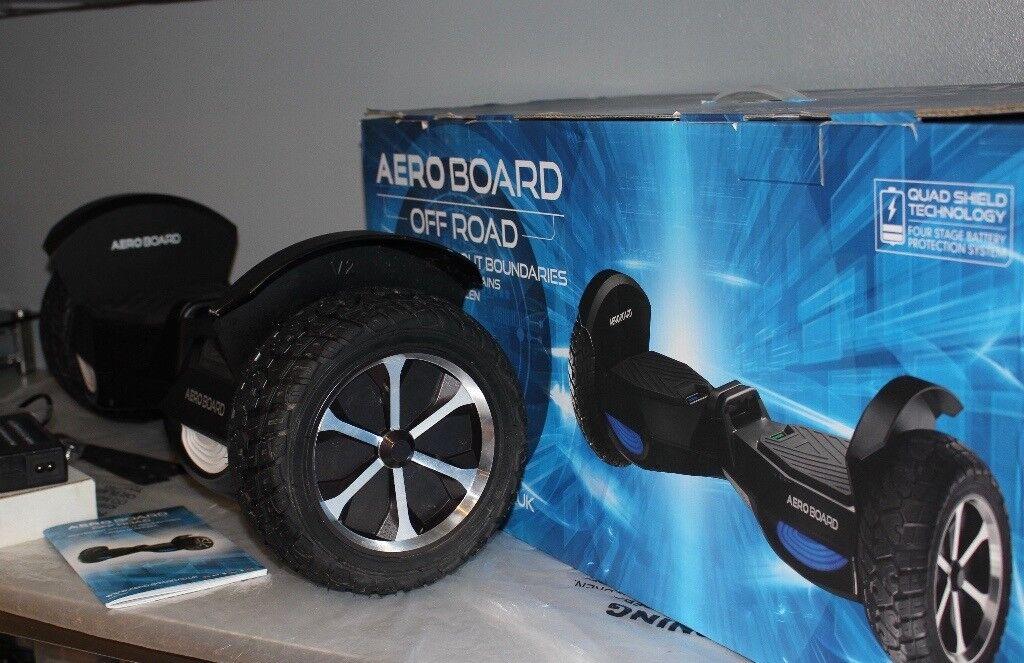 All Terrain Aero Board Self Balance XL smart Hover segway Off Road 8mph L.E.D.