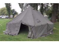 10 man ex military bell tent