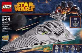 Lego Star Wars 75055 - Imperial Star Destroyer with 5 Minifigs - Disney- BNISB