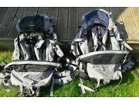 Eurohike Revolution Aqua 70 & Aqua 50 Backpacks
