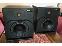 KRK 9000b passive monitors - legendary and rare, all original.