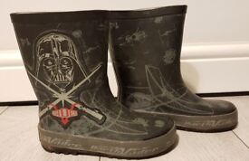Star Wars wellies, size 9