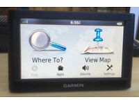 Garmin Nuvi 56LM Automotive GPS Receiver Sat Nav with UK and Europe Navigator