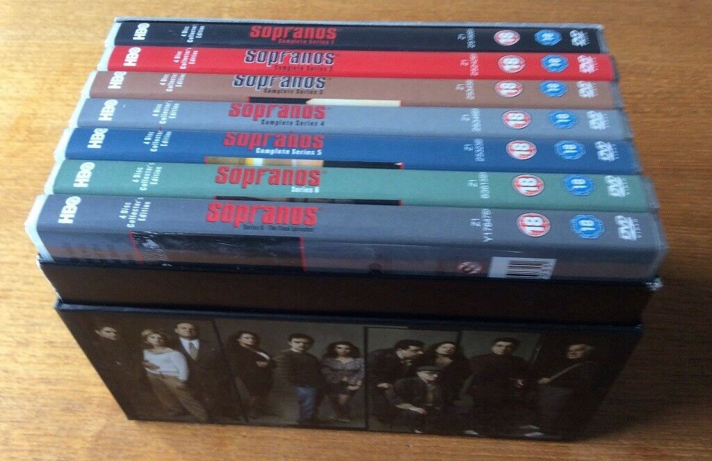 The Sopranos complete DVD box set | in St Andrews, Fife | Gumtree