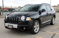2007 Jeep Compass Limited | 4x4 | Only 101K | LEATHER | SUNROOF
