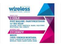 Wireless Tickets 2018 (Friday/Saturday)