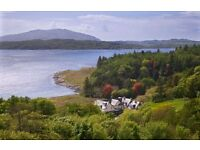 Chef de Partie required for rural hotel near Oban, live-in accommodation available