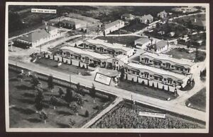 RP-Postcard-VANDALIA-Ohio-OH-Yendes-Motel-Motor-Court-Aerial-view-1-1930s